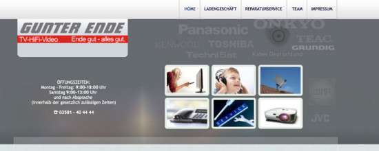 Homepage technisch und inhaltlich neu